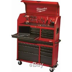 16 Drawer Steel Tool Chest Rolling Cabinet Tool Storage Organizer Portable Steel