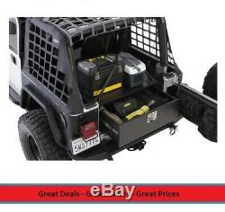 16-Gauge Cold Rolled Steel Rear Lockable Storage Box Supports up to 220 Pounds