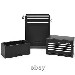 3-in-1 Capacity 6-Drawer Rolling Tool Chest Storage Cabinet Organizer Workshop