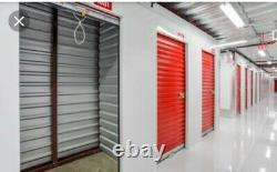 3'x7' Metal Roll-up 650 Mini Storage Series Doors Direct Garage Secure Entry