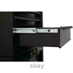 4-Drawer Steel Rolling Tool Cabinet Storage 1000 Series 26.5-in W x 32.5-in H