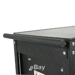 5-Drawer Tool Utility Cart Storage Cabinet Garage Shop Rolling Casters Lockable