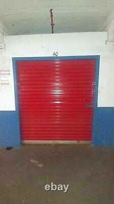 6' x 7' Overhead Rolling Roll-up Doors for Self Storage Unit Garage Shed Mini