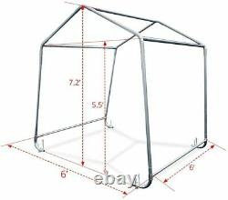 All Season Waterproof Outdoor Shelter Roll up Storage Shed Portable Garage Tent