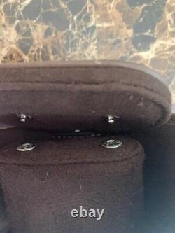 Authentic Schaap En Citroen Brand New Leather Multi Watch Travel Storage Roll