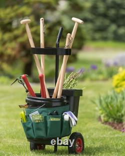 Best Mobile Tool Storage Caddy- Easy Roll Like a Mobile Garden Shed