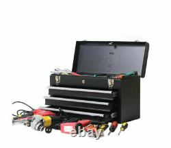 Black Color 4 Drawers Tool Box Garage Rolling Steel Cabinet Tool Storage Chest
