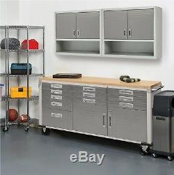 Brand New Seville Classics UltraHD Rolling Workbench Storage