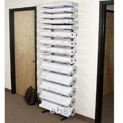 Brookside Design VR864 Vis-i-rack high capacity roll file blueprint storage rack
