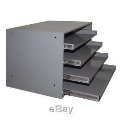 Compartment Box Bearing Sliding Drawer Cabinet Shelving Storage Durham