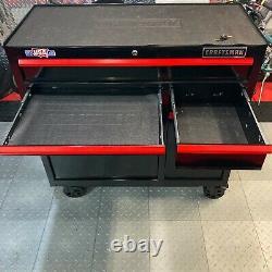 Craftsman 7-Drawer Heavy Duty Steel Rolling Tool Cabinet Storage Mobile Cart