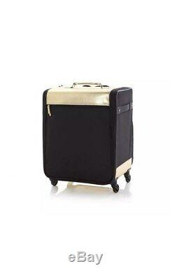 Debbee Flip'N Pack Expandable Rolling Craft Storage Case Gold Brand New NWT