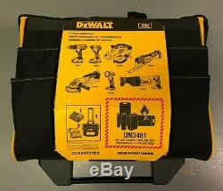 Dewalt 20V Max Lith-Ion 7-Tool Combo Kit with Rolling Storage DCKSS721D2 BRAND NEW