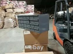 Durham 007-95 Gray Cold Rolled Steel Storage Bin Cabinet