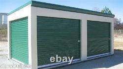 DuroSTEEL JANUS 10'x9' Storage 750 Series Wind Rated Roll-up Door & Hdwe DiRECT