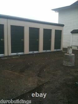 DuroSTEEL JANUS 3'8x7' Storage 750 Series Wind Rated Roll-up Door & Hdwe DiRECT