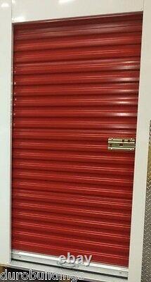 DuroSTEEL JANUS 3'x6'8 Metal Roll-up Door 650 Storage Series & Hardware DiRECT