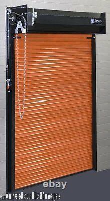 DuroSTEEL JANUS 4'x6'8 Metal Roll-up Door 650 Storage Series & Hardware DiRECT