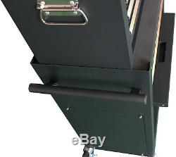Gstandard 2-Pc. Rolling Tool Storage Chest Black