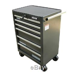 Heavy Duty Ball Bearing 6 Drawer Steel Tool Rolling Cabinet Chest Box Storage