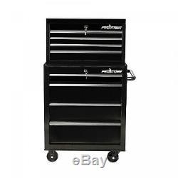 Heavy Duty Steel Tool Storage Chest Bottom Box Home 4 Drawer Organizer Rolling