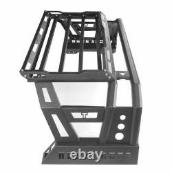 Hooke Road High Bed Roll Bar Storage with Cargo Rack for Toyota Tundra 2014-2021