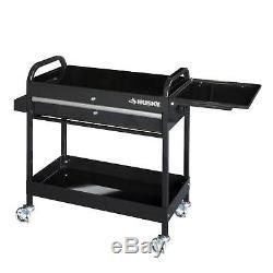 Husky Rolling Tool Cart Utility Steel Organize Parts Garage Shop Drawer Storage