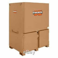 KNAACK 119-01 Rolling Jobsite Storage Cabinet/Tool Box, 82-1/2H x 60W x 44D
