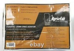 Lawn Groomer Push Aerator 16 Spike Grass Soil Penetration Air Rolling Manual