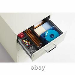 Lorell 4-drawer 26-1/2 Mobile Storage Cabinet 14.3 X 18 X 26.5 Steel 4