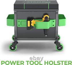 MYCHANIC Garage Rolling Toolbox Stool Sidekick Stool SK3 Holds 500 lbs