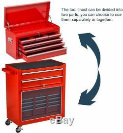 Mechanics Tool chest Rolling Tool Box Storage Organizer Cart Automative Repair