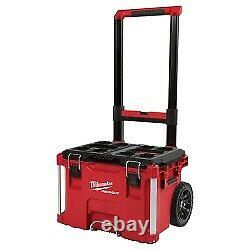 Milwaukee PackOUT Rolling Modular Storage Tool Box MLW48-22-8426 Brand New