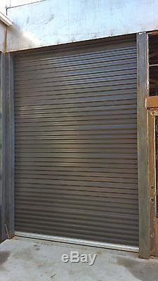 Model 650 5' x 7' Light Duty Rolling Self Storage Steel Roll-Up White Door