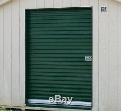 Model 650 7' x 7' Light Duty Rolling Self Storage Steel Roll-Up White Door