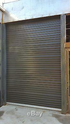 Model 650 8' x 7' Light Duty Rolling Self Storage Steel Roll-Up White Door