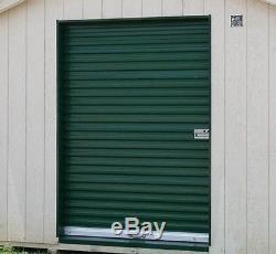 Model 650 9' x 7' Light Duty Rolling Self Storage Steel Roll-Up White Door