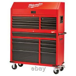 New Milwaukee 46In Rolling Steel Storage Chest And Cabinet 48228500
