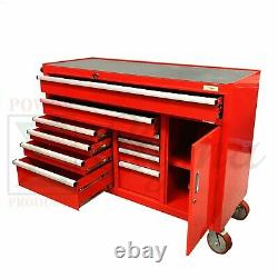 New Sigma 52 10-Drawer Heavy Duty Steel Rolling Tool Box Storage Organizer