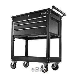 OLYMPIA Rolling Tool Chest Cabinet Organize 4 Drawer Toolbox Mechanics Storage