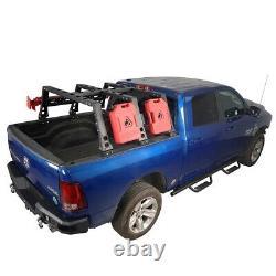 Offroad Storage Max Roll Bar High Bed Cargo Rack Basket For 09-18 Dodge Ram 1500