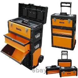 Packout Rolling Modular Tool Box Stackable Storage System Trolley Master Tool Bo