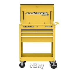 Roll Around 30 In. 4 Drawer Rolling Tool Box Storage Chest Cabinet Cart Various