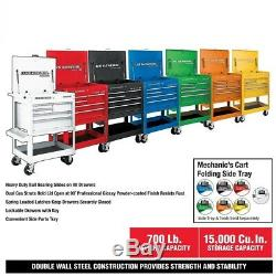 Roll Around 30 In. 5 Drawer Rolling Tool Box Storage Chest Cabinet Cart Various