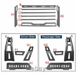 Roll Bar High Bed Rack Top Storage Luggage Carrier for Toyota Tacoma 2005-2021