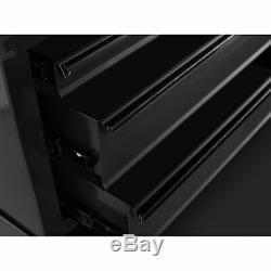 Rolling 5-Drawer Tool Chest Organizer Steel Garage Mechanics Storage Box, Black