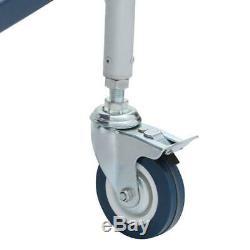 Rolling Cart Scaffolding Aluminum Steel Heavy Duty Foldable Adjustable Storage