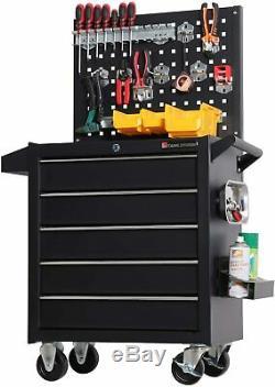 Rolling Tool Box Chest Organizer Cart Storage Industrial Mechanics Automative