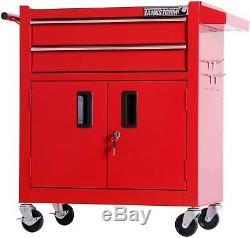 Rolling Tool Box Chest Organizer Utility Cart Storage Industrial Mechanics Autom