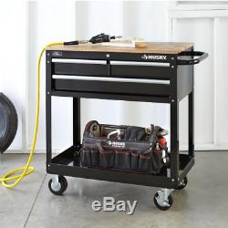 Rolling Tool Cabinet Storage Chest Box Garage Toolbox Organizer Drawer Husky